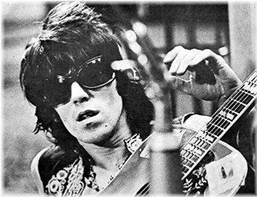 Keith Richards was pretty...forty years ago