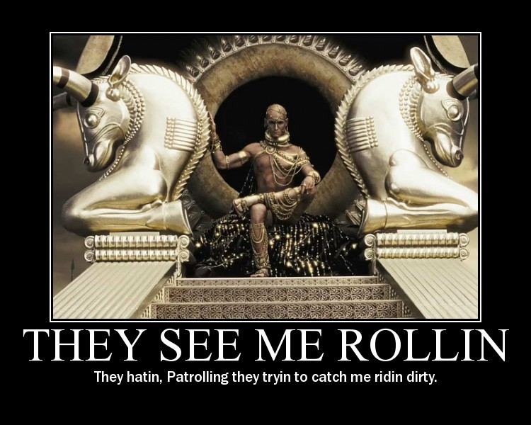 Neil is the King of the WorldReal Xerxes