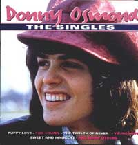 Donny Singles album cover