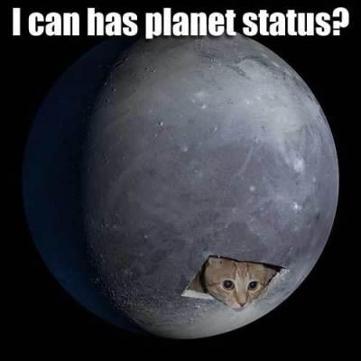 Pluto Lolcat