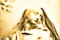 veiled statue by rich hugunine