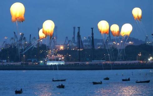 Jellyfish Balloons ofSingapore