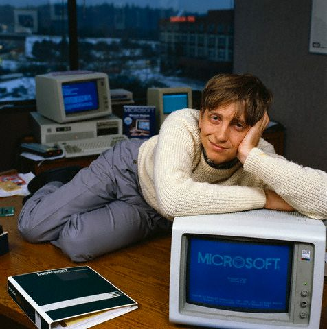 Bill Gates on Manhunt 1