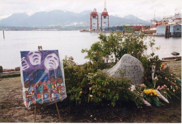 Missing Women memorial