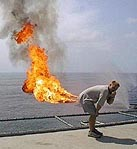 Farting Flame