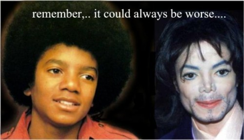 Michael Jackson…things could be worse