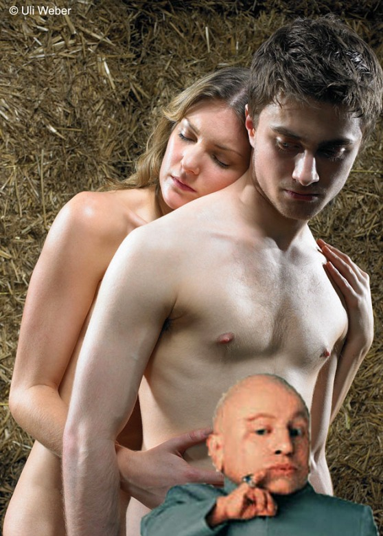 Daniel Radcliffe and his peen protector