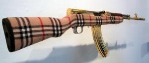 Burberry AK 47?