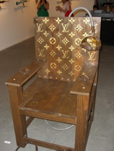 Louis Vuitton Electric Chair