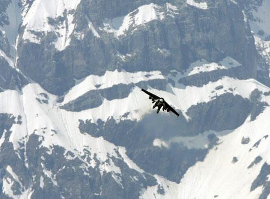 Yves Rossy, the Birdman of Switzerland