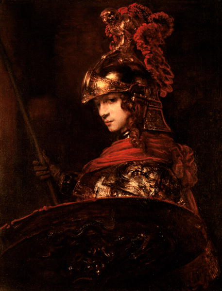 Rembrandt's Pallas Athena