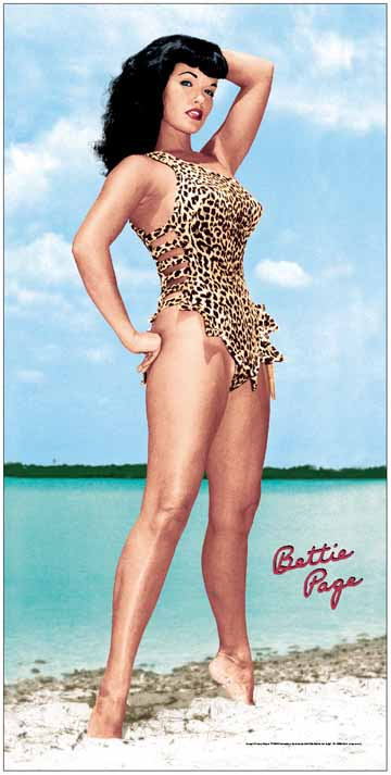 Bettie Page, the notorious