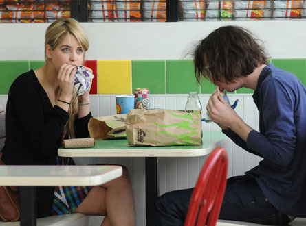 Peaches Geldof with man of the moment