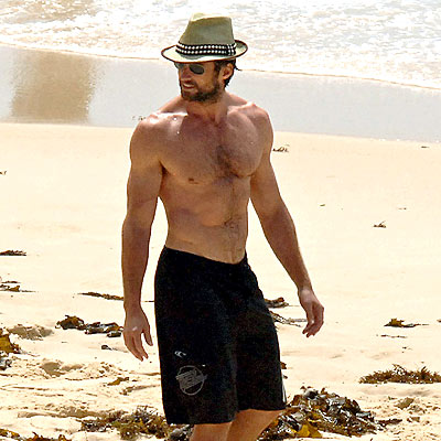 Hugh Jackman, the perfect chest