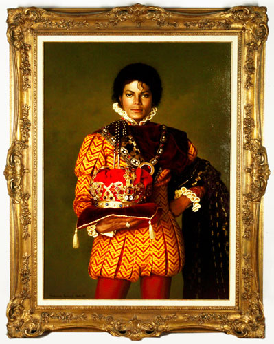 Michael Jackson was the king of pap