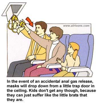 In case of fart...