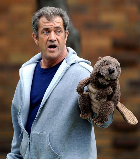 Beaver freaks out Mel Gibson