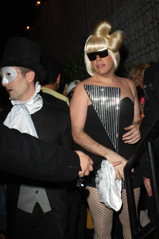 perez hilton as Lady Gaga