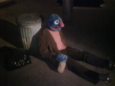 Sad Grover has a sad