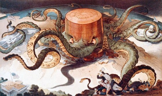Standard Oil Octopus, Baby!