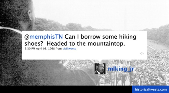 Martin Luther King on Twitter