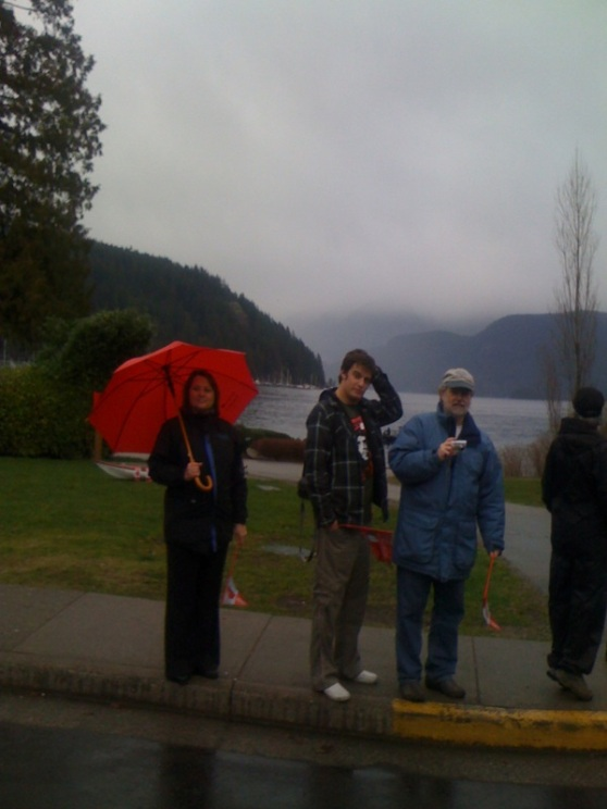 Deep Cove on Olympic Torch Route