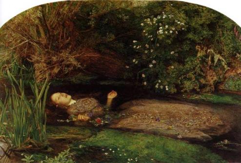 Ophelia by John Everett Millais demonstrates my idea of repose