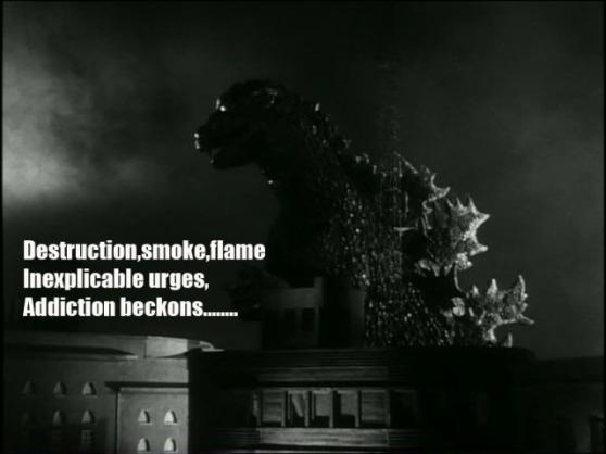 Godzilla haiku