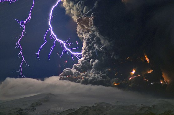 Eyjafjallajökull Icelandic volcano explosion