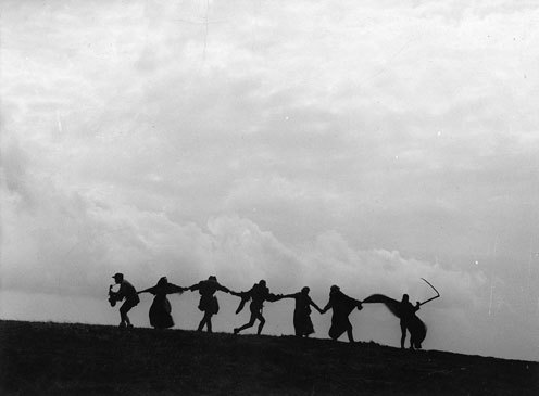 The Seventh Seal Party Conga Line