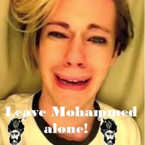 Chris Crocker sez leave mohammed alone on Everybody Draw Mohammed Day