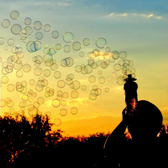 Bubble Sunset by Khosey1 on Flickr