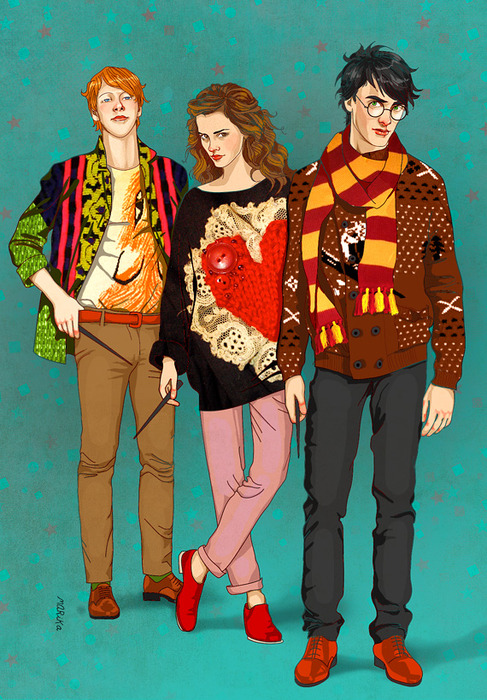 Hipster Potter and the Order of the Phen-Tex