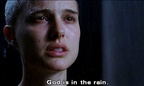 god is in the raincoaster