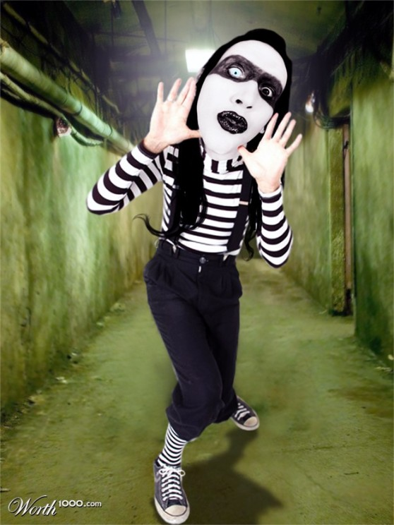 Mime Manson is a thousand times more articulate than the talky one