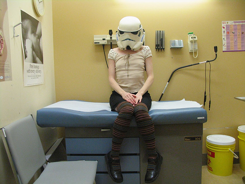 Even stormtroopers need a checkup now and again