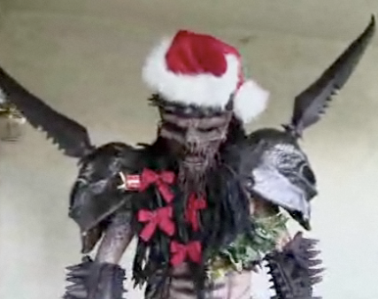 Merry Christmas from GWAR. I SAID MERRY CHRISTMAS YOU ASSHOLES!!!
