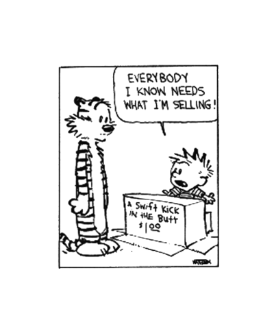 calvin is SO right