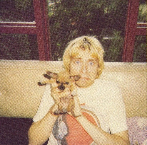 Kurt Cobain welcomes the Herald of Death