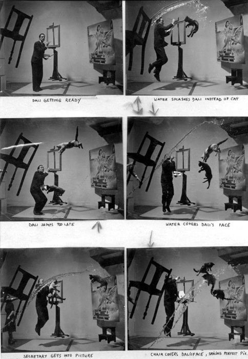Dali and flying cats takes one through six