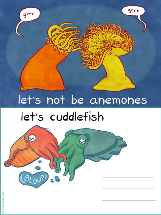 A ten tentacle salute to love!