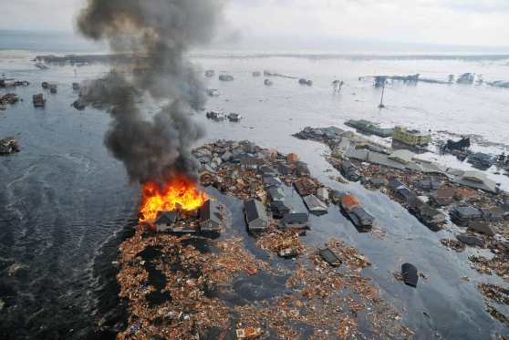 Japan Earthquake Tokyo Fires