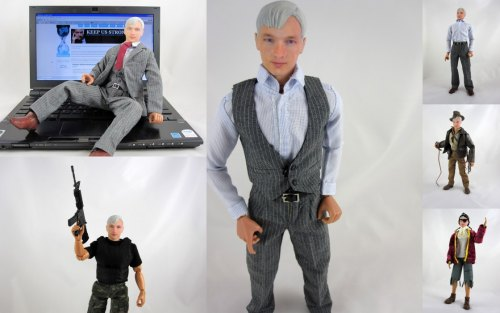 Julian Assange Action Figure