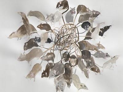 Rat King, the watercolour