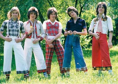 Bay City Rollers are rocking the rocker look insofar as it applies to the Scots anyway