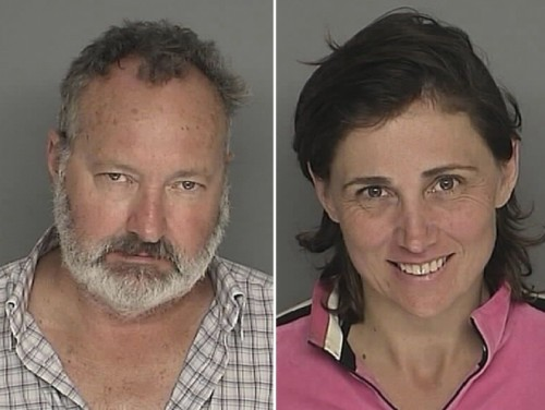 Randy and Evi Quaid Mugshots