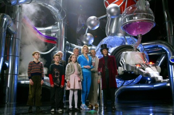 Charlie and the Chocolate factory have a lot to answer for