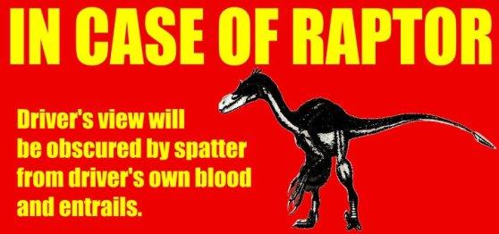 In Case of Raptor