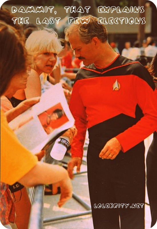 Jack Layton is the Redshirt