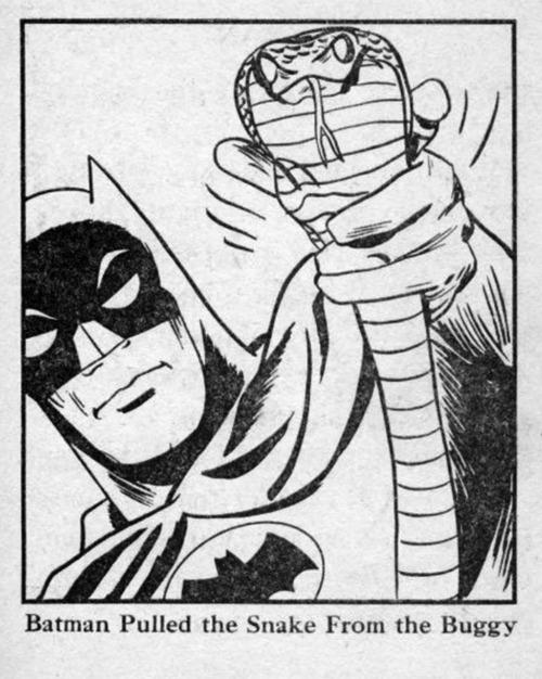 Batman's Buggysnake was HUGE!